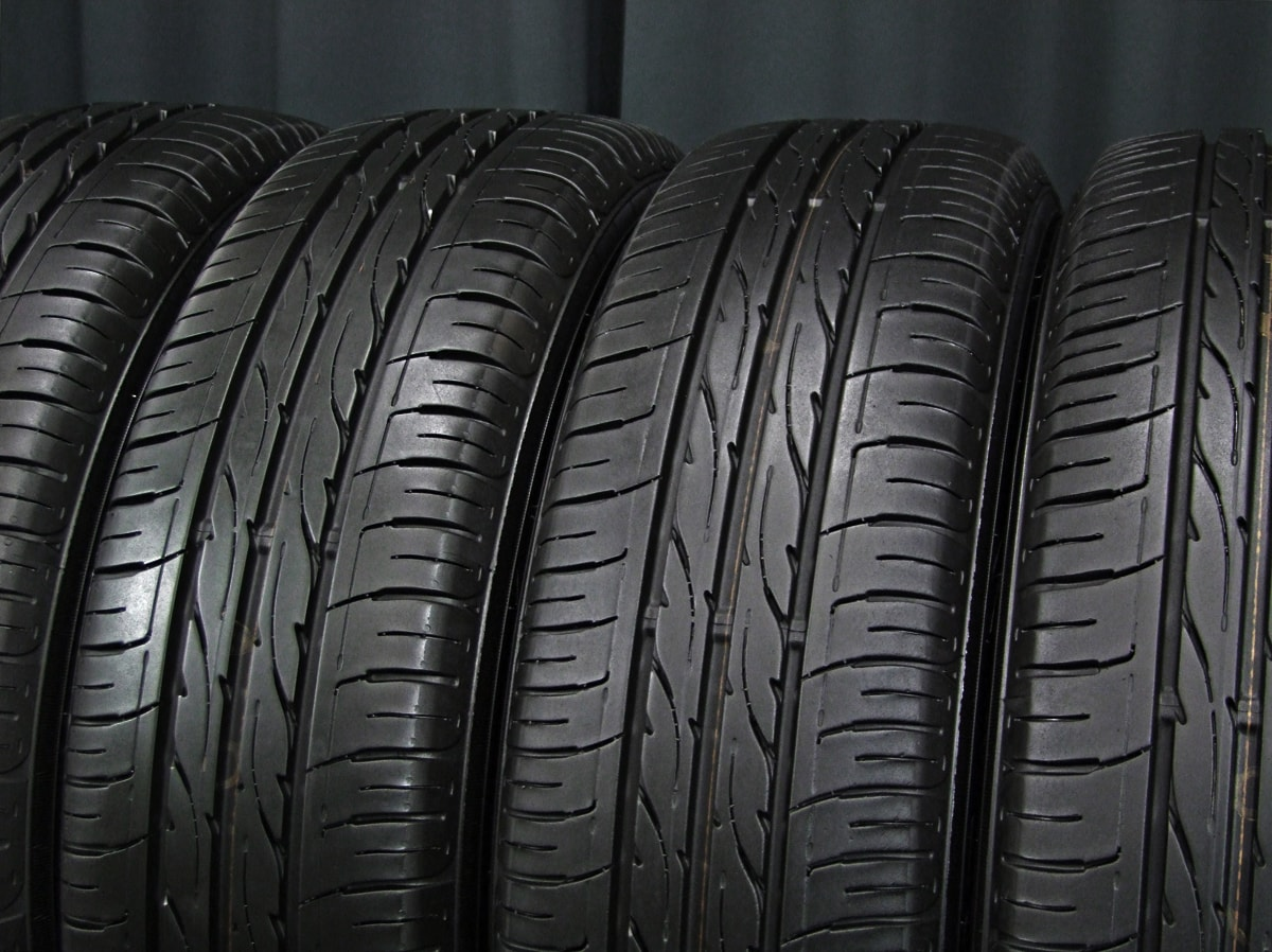 DUNLOP ROZEST STYLISH MODE S5 ガンメタ DUNLOP ENASAVE EC203 165/65R14 4本SET