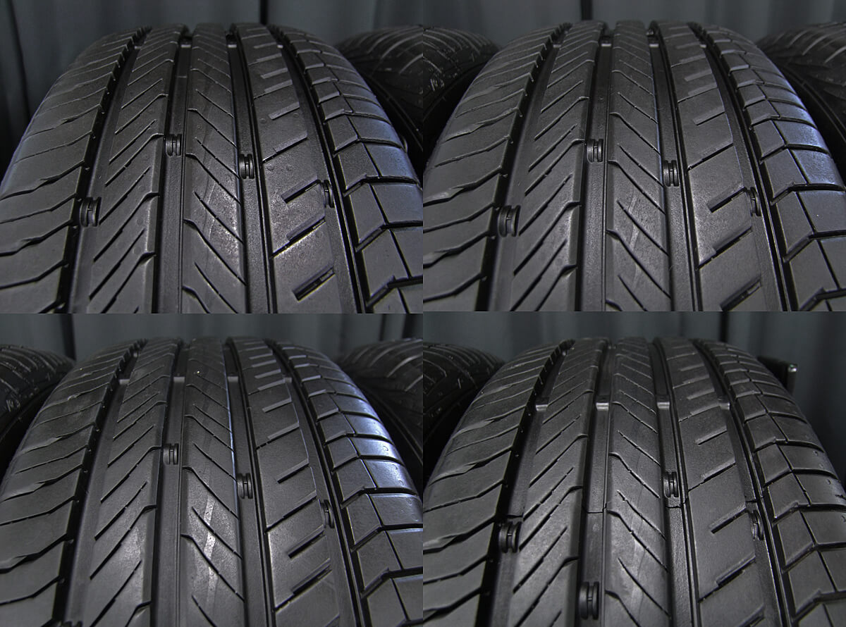 STABILE BALES ガンメタ CONTINENTAL ContiComfortContact CC5 205/60R16 4本SET