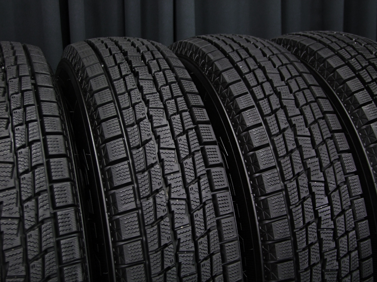 WEDS KEELER FORCE シルバー GOODYEAR ICE NAVI SUV 175/80R16 4本SET