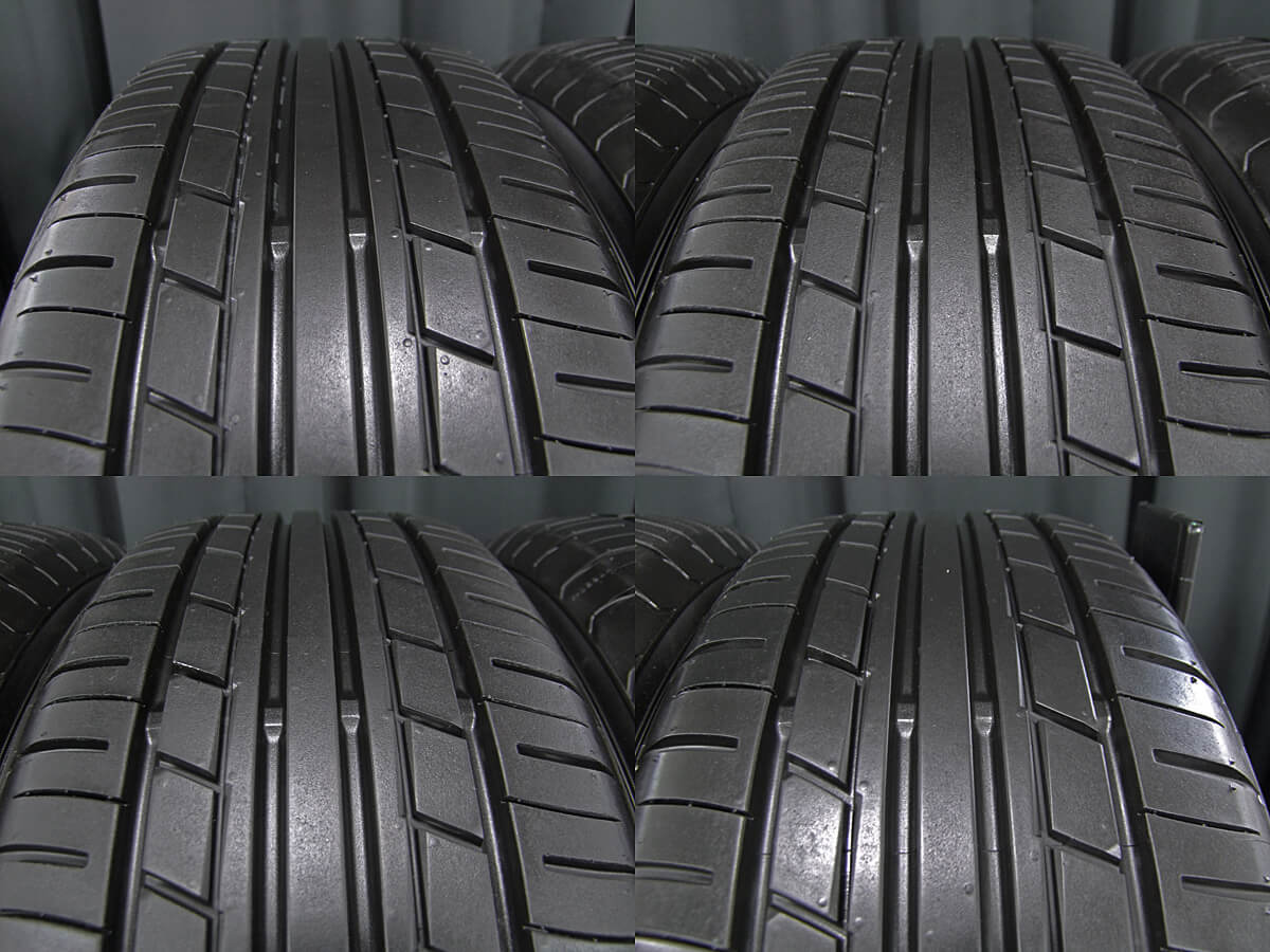 INTER MILANO CLAIRE MD10 ダークシルバー YOKOHAMA ECOS ES31 205/55R16 4本SET
