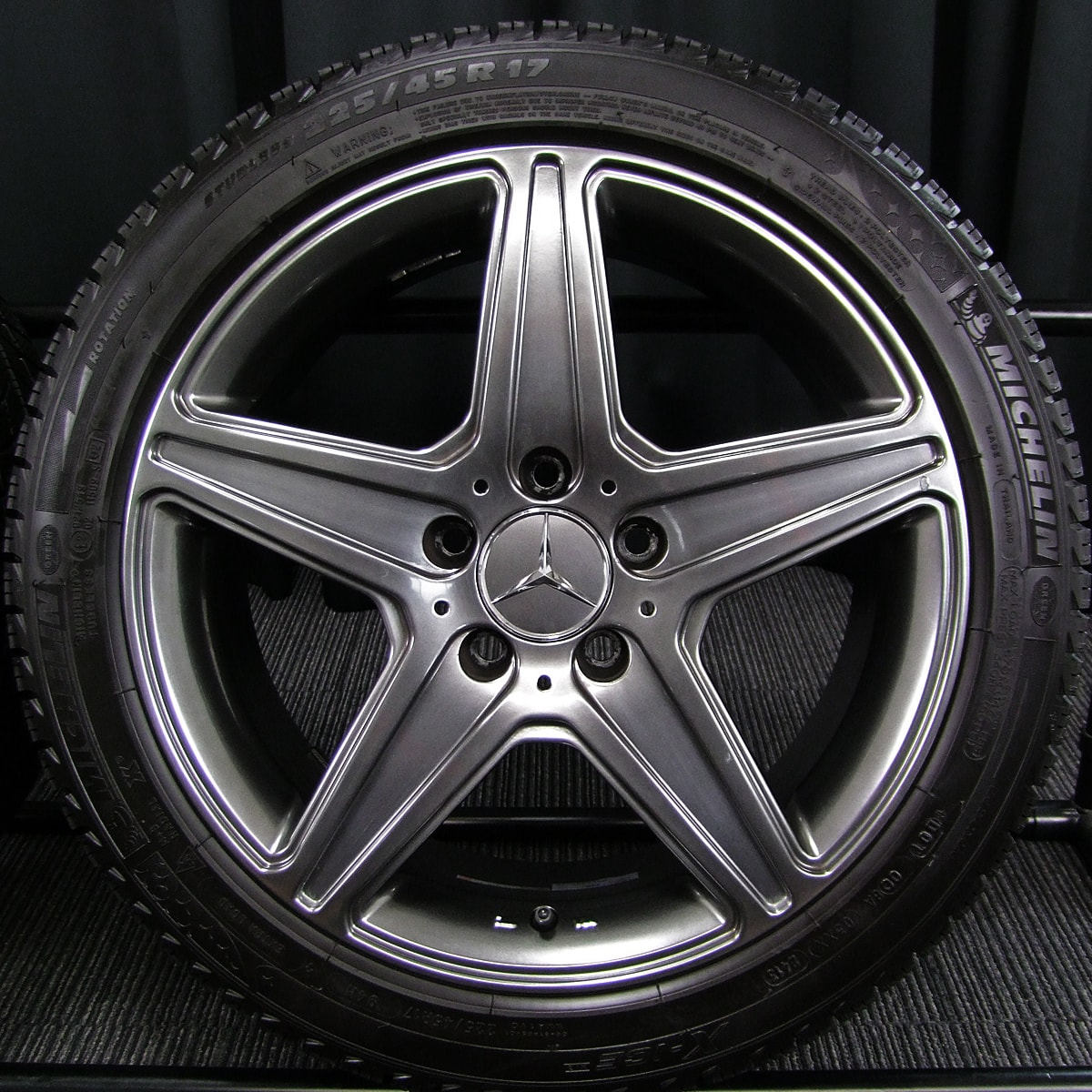 BRIDGESTONE TARGA AGA Burg ガンメタ MICHELIN X-ICE XI3 225/45R17 4本SET