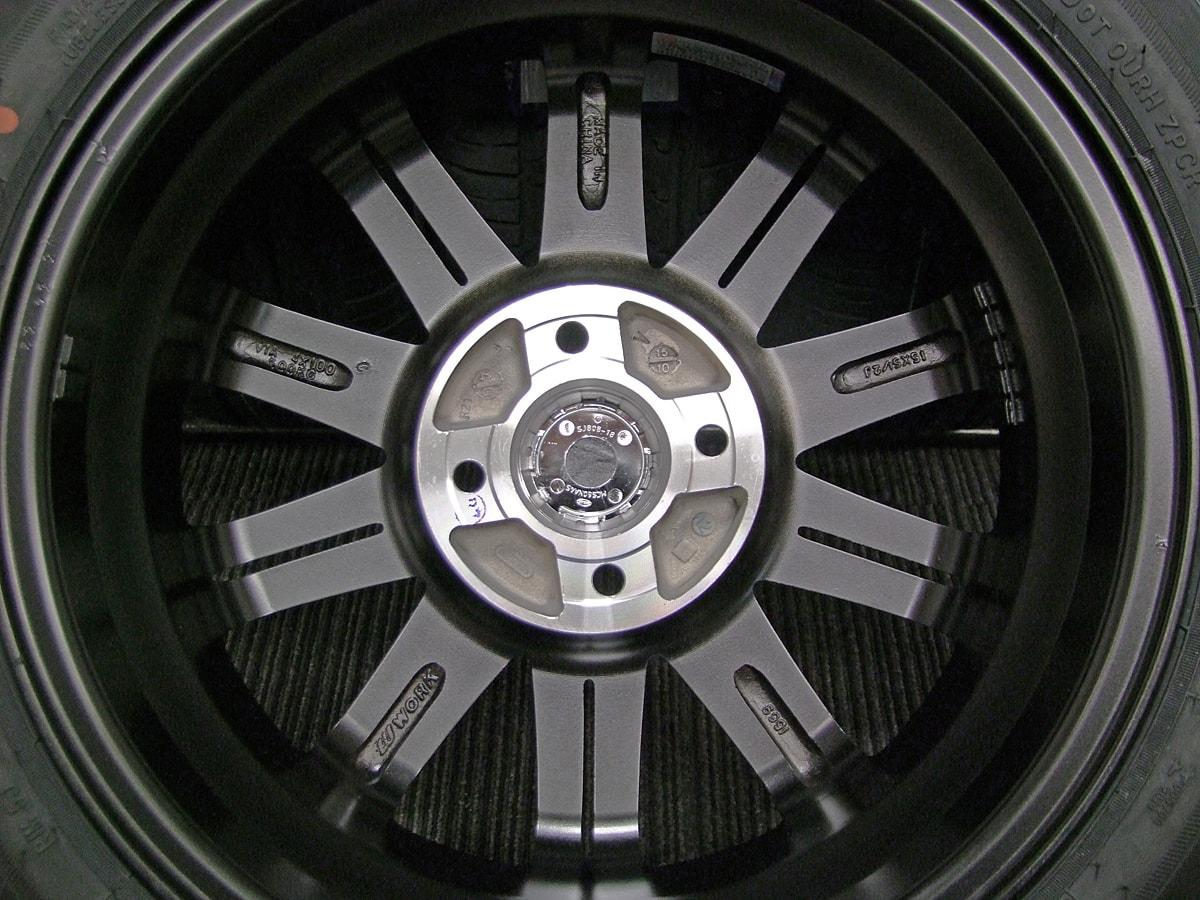 WORK PROMISING STYLE S ピンクメタリック&ピンクポリッシュ ZEETEX ZT1000 165/55R15 4本SET