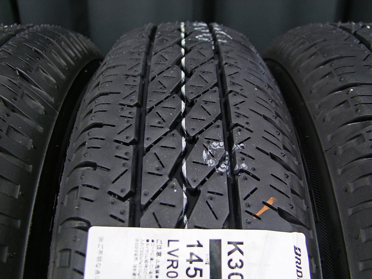 BRIDGESTONE FEID TM7 ダークシルバー BRIDGESTONE K305 145R12LT 6PR 4本SET