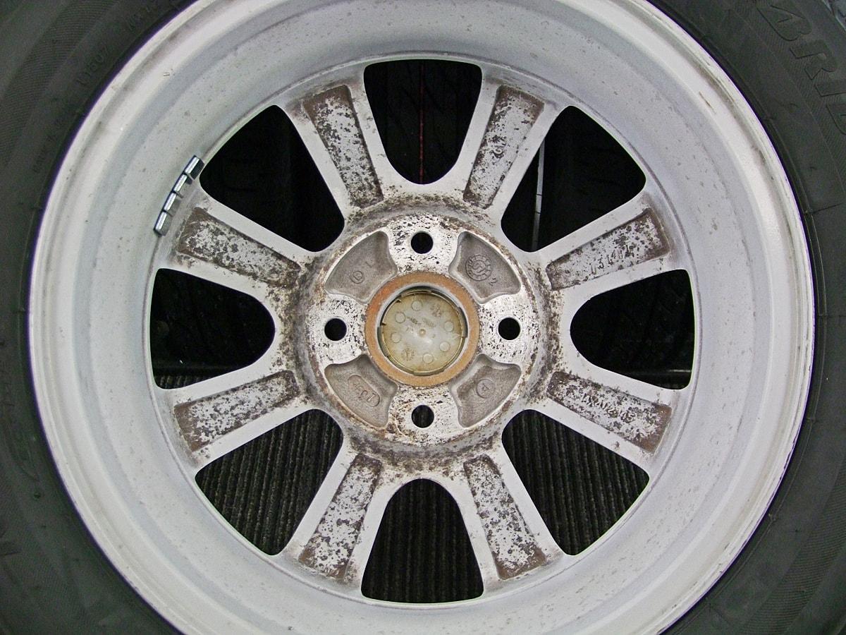 DAIHATSU タント 純正 ホワイト BRIDGESTONE NEXTRY 155/65R14 4本SET