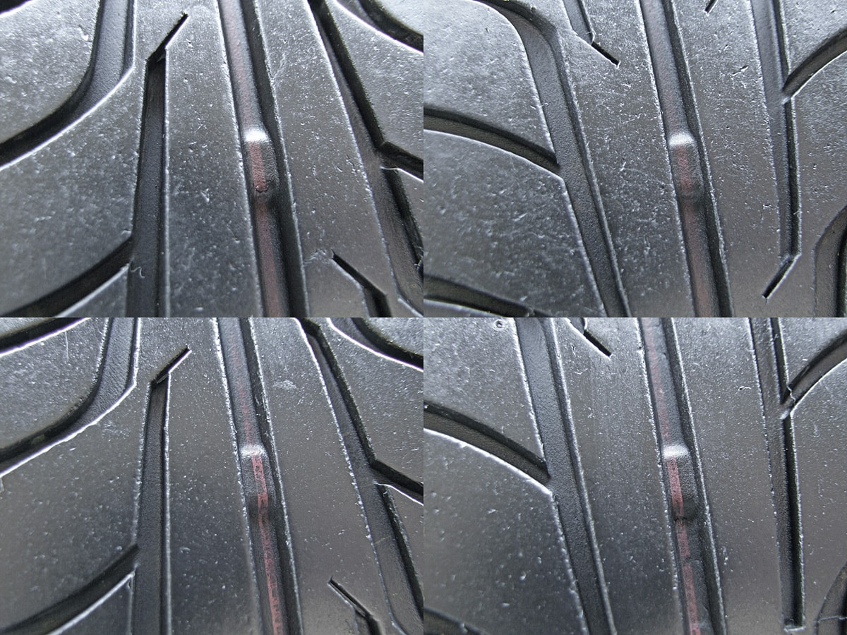MONZA JAPAN JP STYLE Uni Five マットブラック FIRESTONE FIREHAWK WIDE OVAL 205/50R16 4本SET