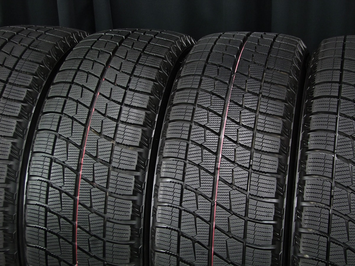 BRIDGESTONE FEID NK5 シルバー BRIDGESTONE ICE PARTNER 215/55R17 4本SET
