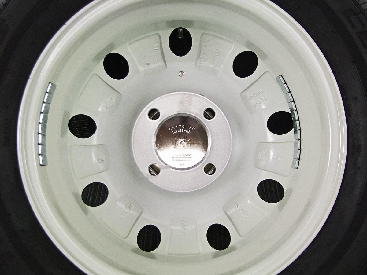 LUMACA ホワイト CENTARA 791 TOURING A/S 165/65R13 4本SET