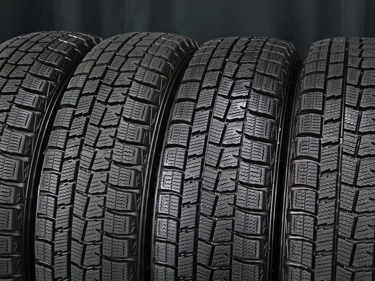 HONDA N-BOX 純正 ブラックスチール DUNLOP WINTER MAXX WM01 155/65R14 4本SET