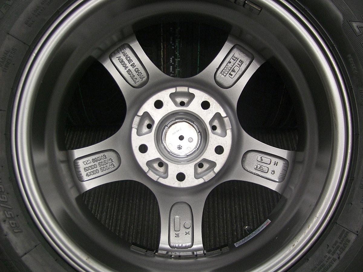 KIRCHEIS S5 ガンメタ ZEETEX ZT1000 195/65R15 4本SET