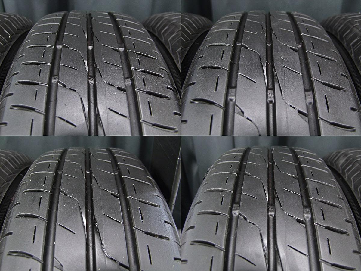 KYOHO SEIN RACING ガンメタ BRIDGESTONE ECOPIA EX20C 155/65R13 4本SET