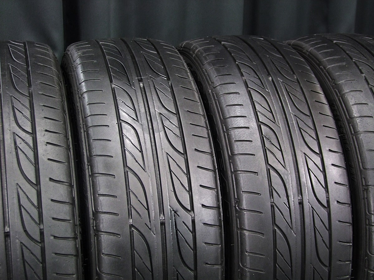 MANARAY SPORT Duplex Rayed ガンメタ GOODYEAR EAGLE LS2000 Hybrid2 165/55R14 4本SET