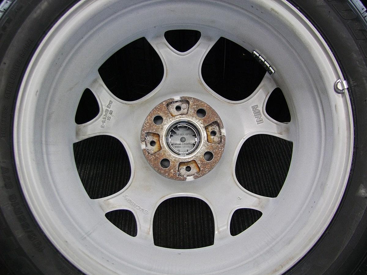 BMW MINI クーパー 純正 ホワイト BRIDGESTONE POTENZA RE050A 195/55R16 4本SET