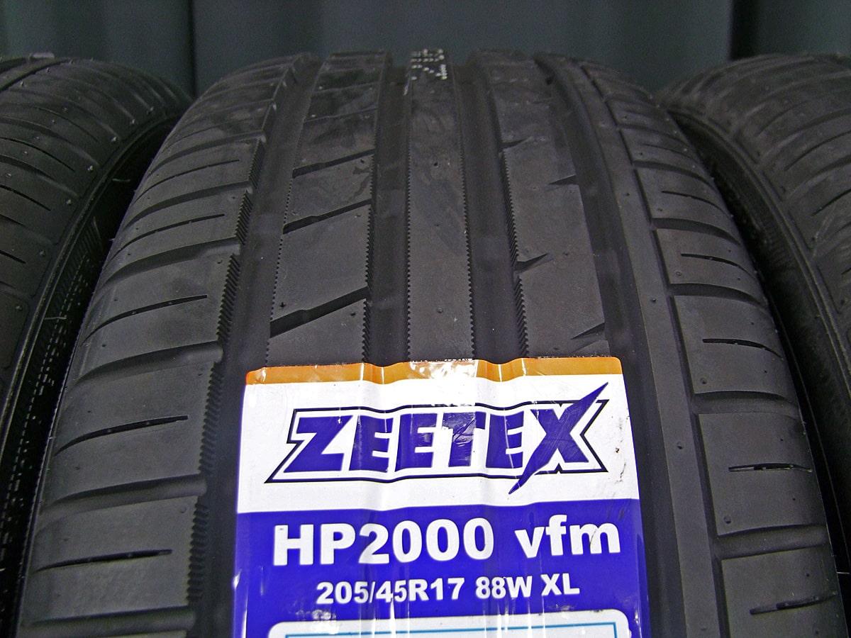 RAYS SEBRING GEM CROSSFADE シルバー ZEETEX HP2000 vfm 205/45R17 4本SET