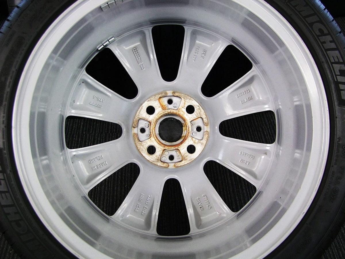 BMW MINI クーパーS 純正 シルバー MICHELIN Pilot EXALTO PE2 205/45R17 4本SET