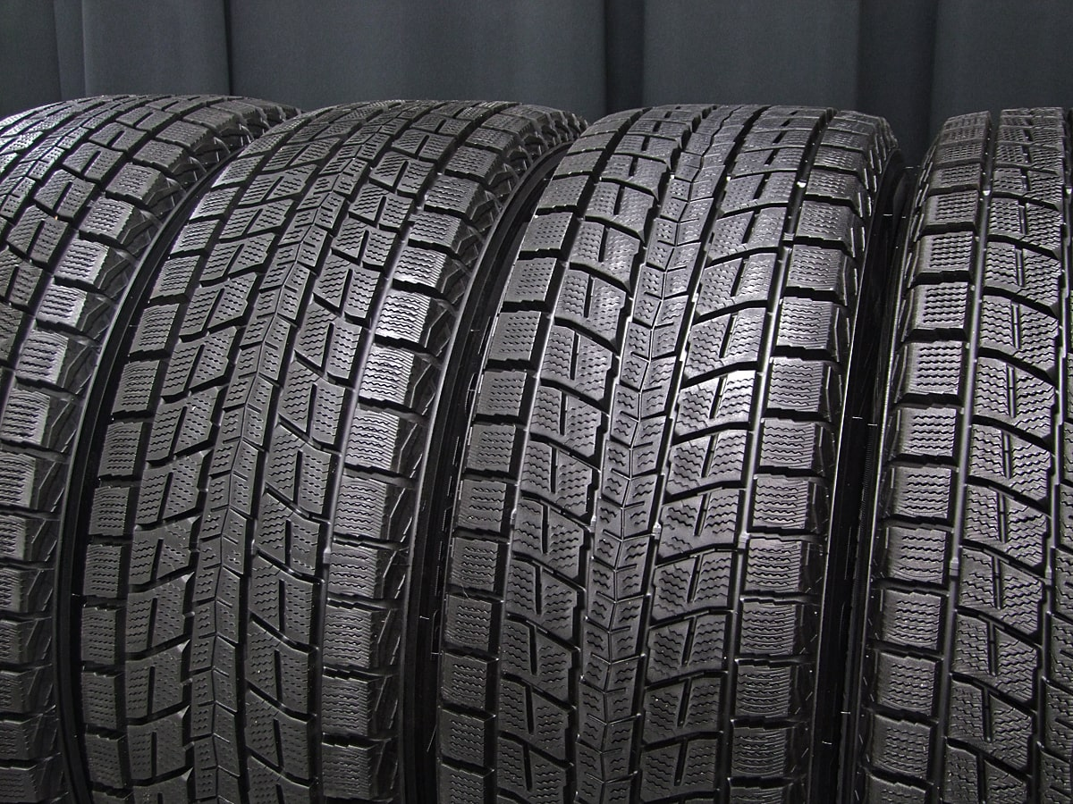 RIH ST ALURAD D5 ガンメタ DUNLOP WINTER MAXX SJ8 225/60R17 4本SET