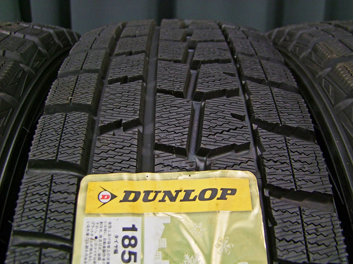 MANARAY SPORT EUROSPEED X10 ダークシルバー DUNLOP WINTER MAXX WM01 185/60R16 4本SET