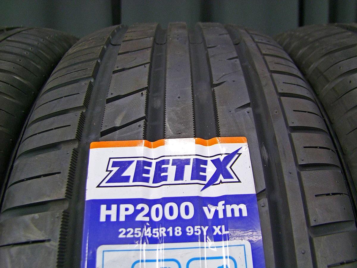 HONDA オデッセイ 純正 ガンメタ ZEETEX HP2000 vfm 225/45R18 4本SET