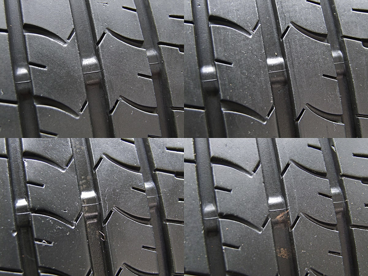 TOYOTA 純正 ブラックスチール GOODYEAR EfficientGrip ECO EG01 165/55R14 4本SET
