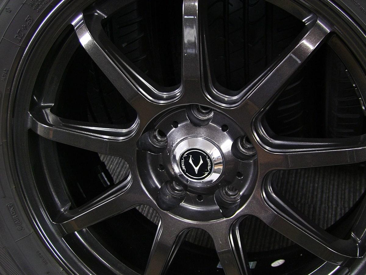 HEATVOICE CORPORATION VATRRA093 ブラックメタリック GOODYEAR EfficientGrip SUV HP01 225/65R17 4本SET