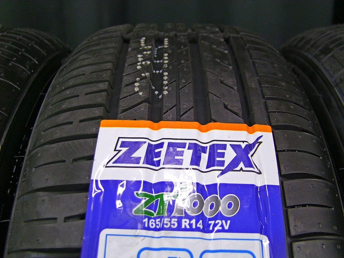 MAZDA デミオ 純正 ブラックスチール ZEETEX ZT1000 165/55R14 4本SET