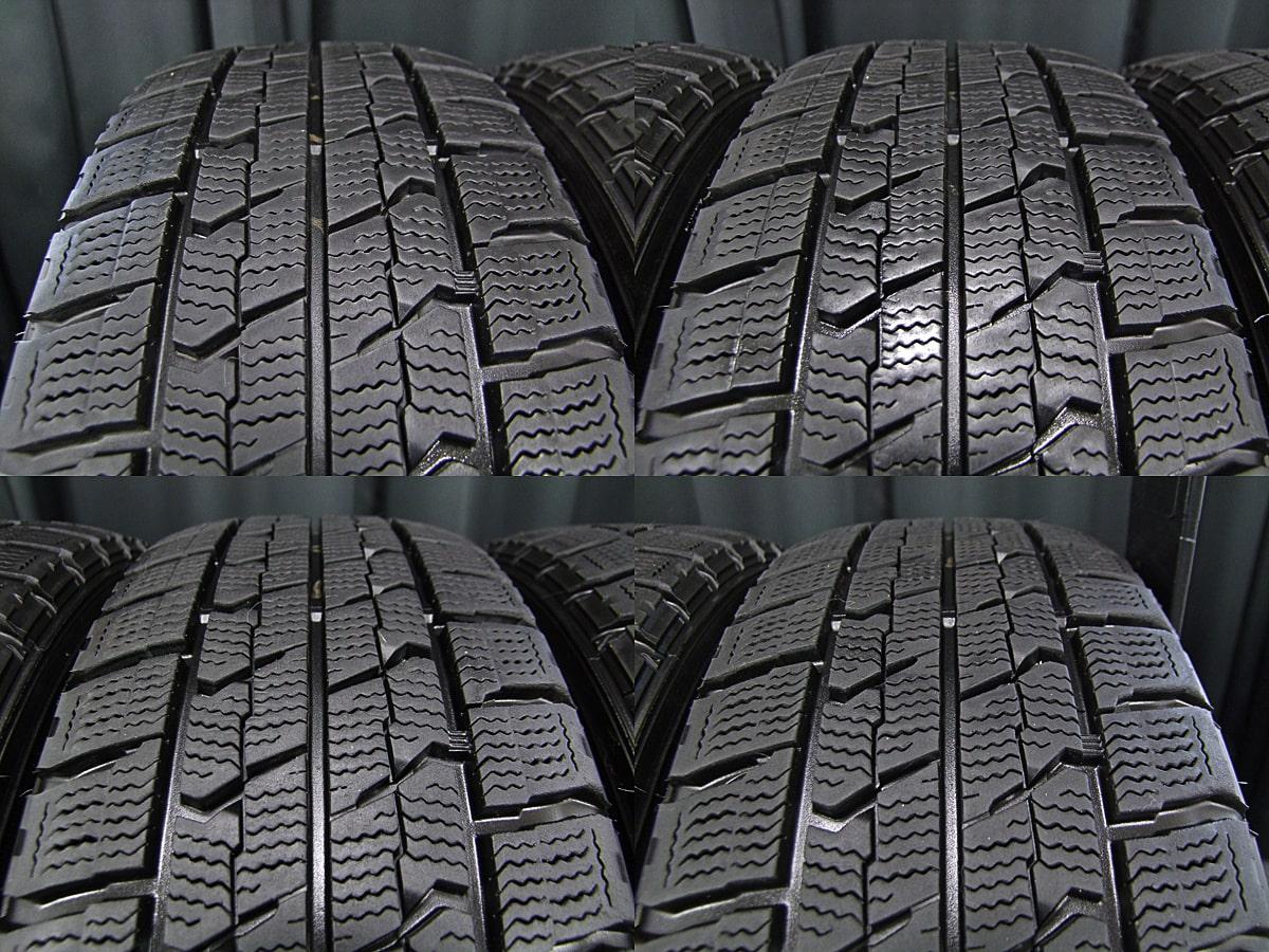FIAT 500 純正 ブラックスチール GOODYEAR ICENAVI ZEA2 175/65R14 4本SET