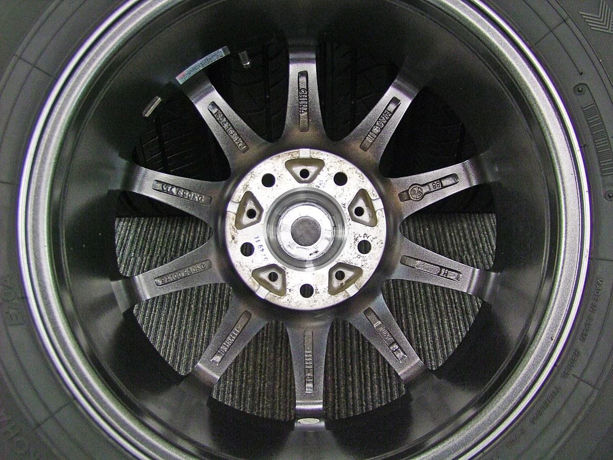BADX LOXARNY SPORT RS-10 ダークシルバー YOKOHAMA dB decibel E70 215/60R16 4本SET