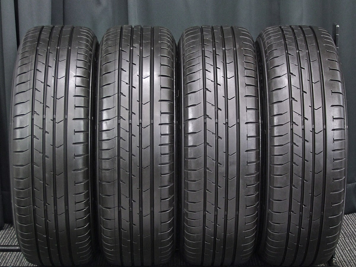 AUTOBACS LEBEN DS5 ダークシルバー GOODYEAR EAGLE RV-F 195/65R15 4本SET