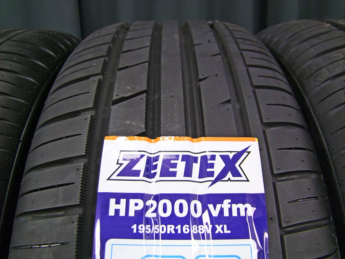 NEW RAYTON BLEST EURO SPORT Vanish T5 ブラック&ポリッシュ ZEETEX HP2000 vfm 195/50R16 4本SET