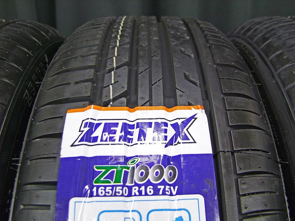 A-TECH SCHNEIDER StaG ダークシルバー ZEETEX ZT1000 165/50R16 4本SET