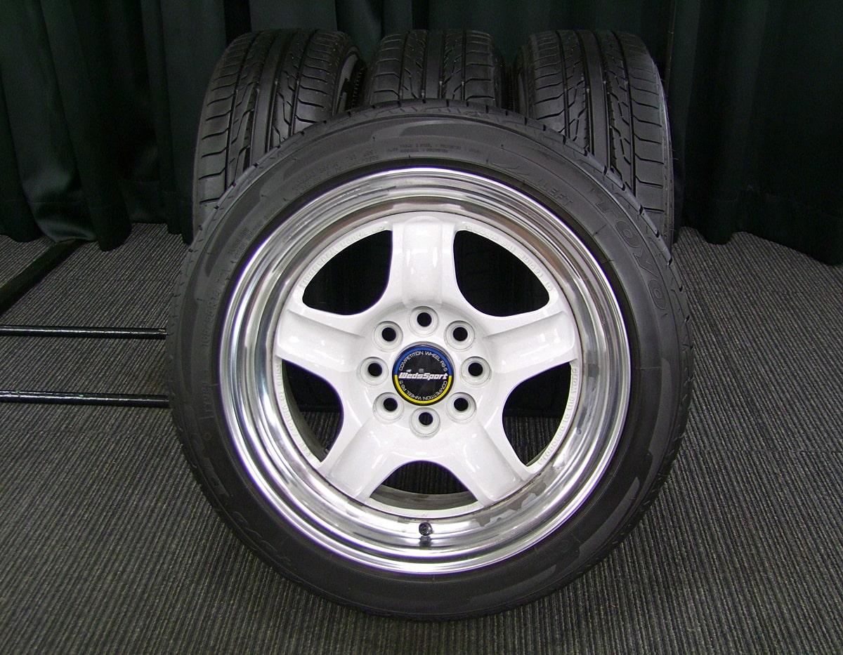 WEDS WedsSport RS-5 ホワイト TOYO DRB 165/55R14 4本SET