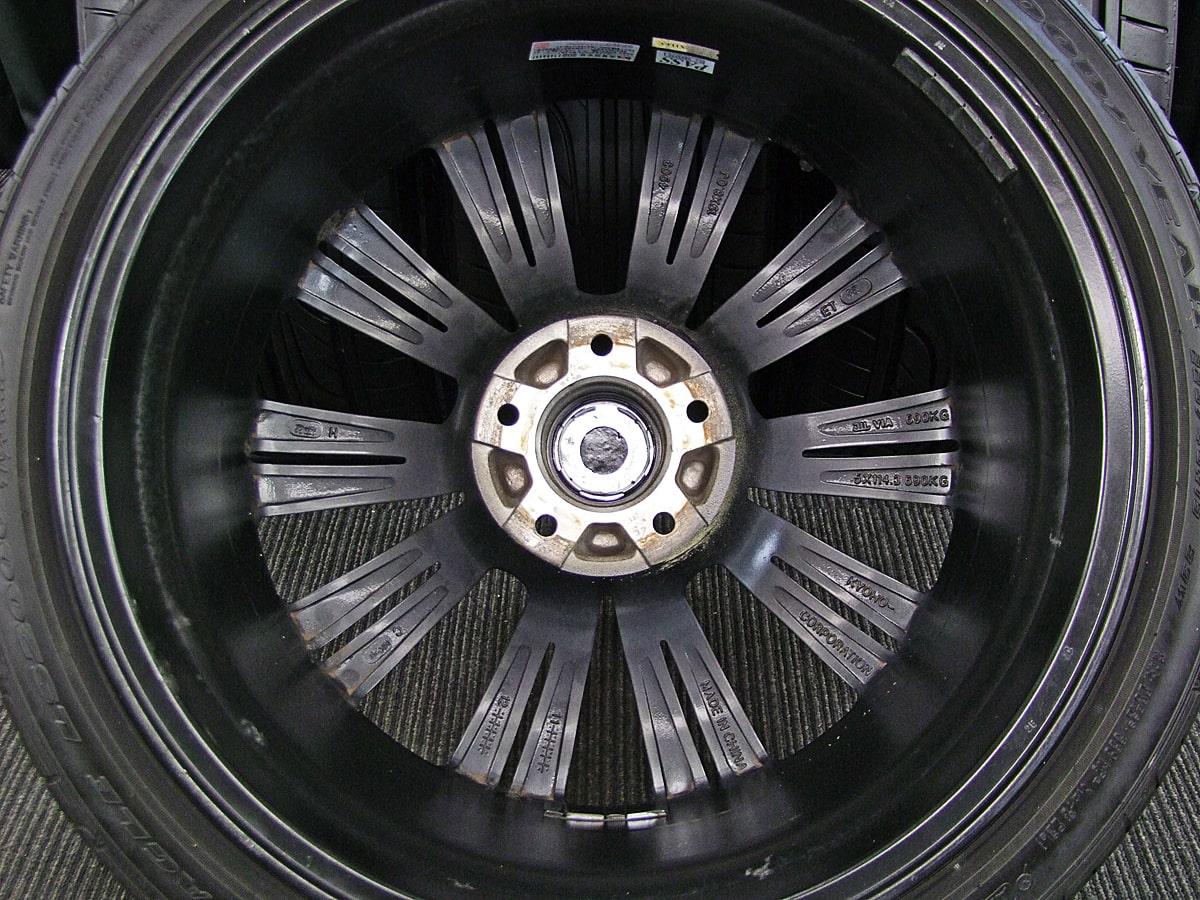 BADX LOXARNY EX MATRIX JUNIOR ブラック&ポリッシュ GOODYEAR EAGLE LS2000 Hybrid2 225/40R19 245/35R19 4本SET