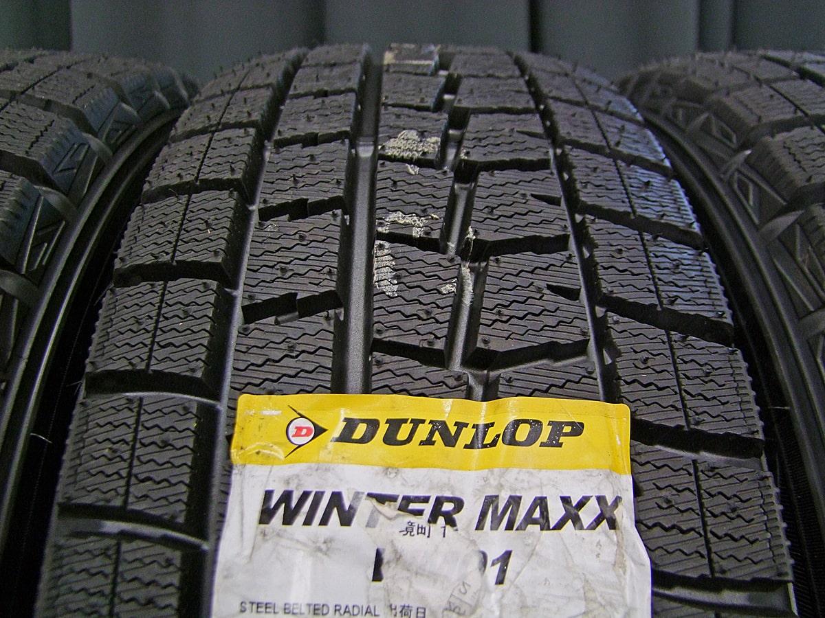 HONDA フリード 純正 ブラックスチール DUNLOP WINTER MAXX WM01 185/65R15 4本SET
