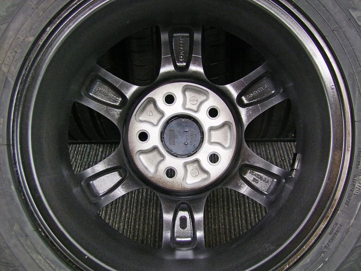 HONDA ステップワゴン 純正 ガンメタ DUNLOP ENASAVE EC300 185/65R15 4本SET