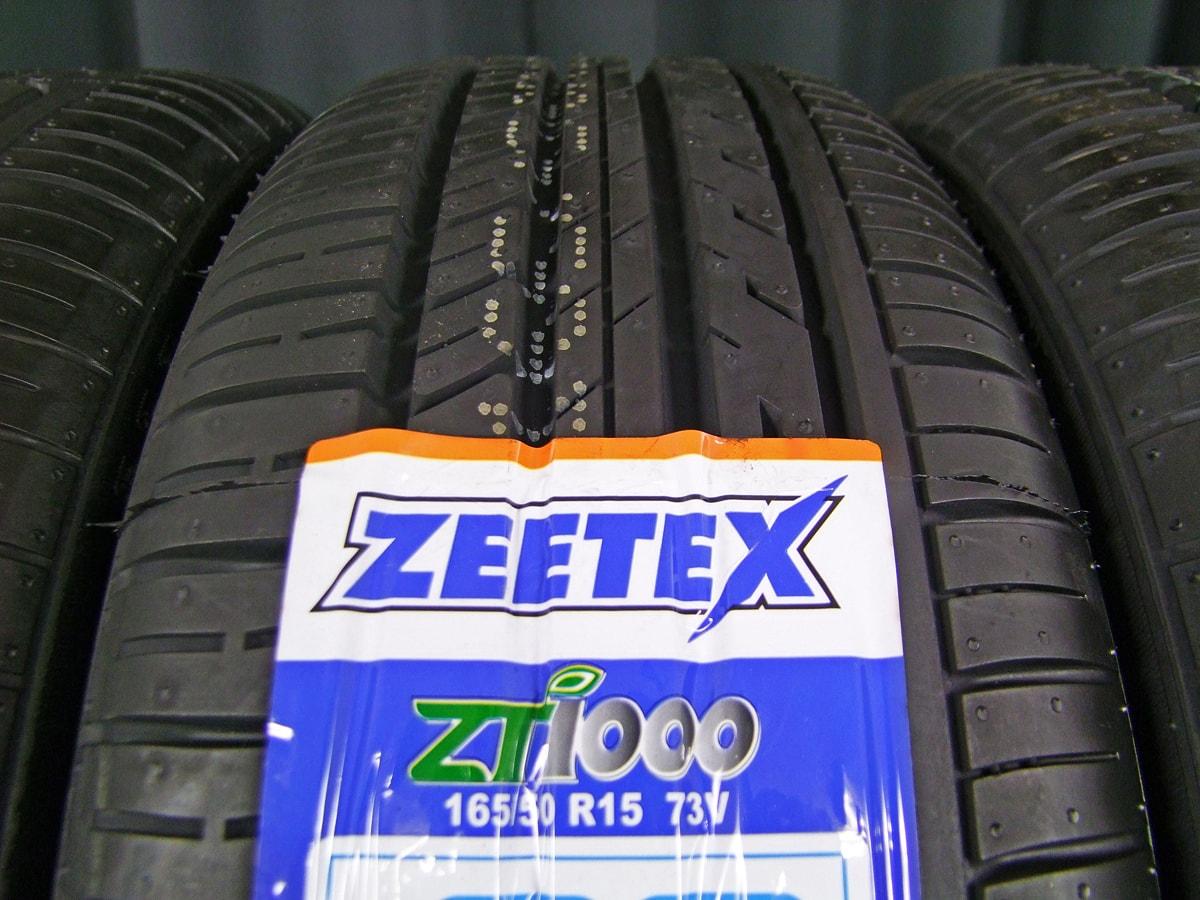 HOT STUFF G.speed G-03 ブラックメタリック ZEETEX ZT1000 165/50R15 4本SET