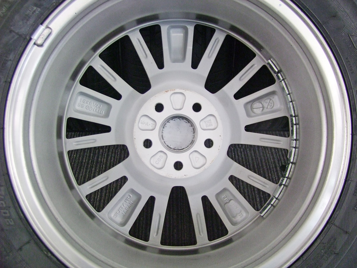 SUBARU インプレッサスポーツ・インプレッサG4 純正 ハイグロスシルバー ZEETEX ZT1000 205/55R16 4本SET