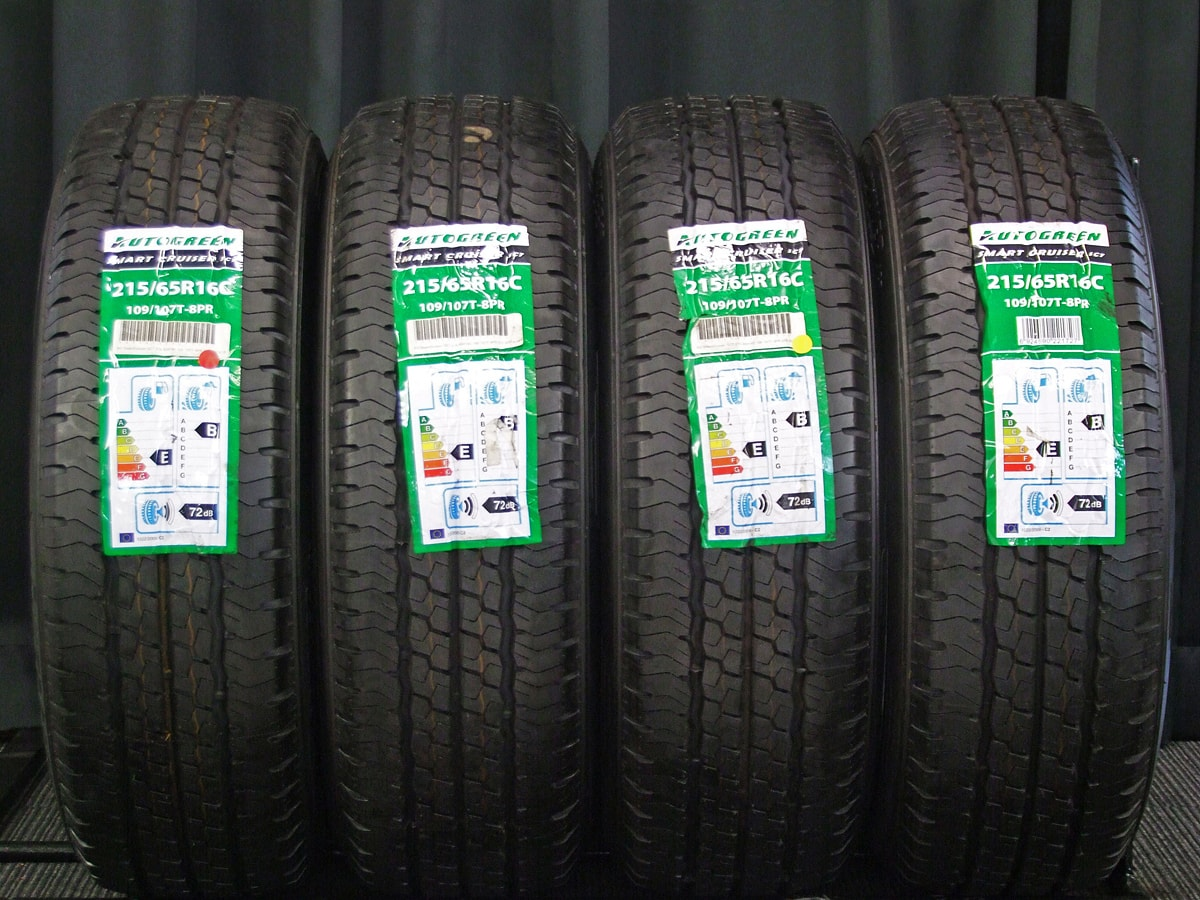 WEDS KEELER FORCE シルバー AUTOGREEN SMARTCRUISER SC7 215/65R16C 109/107T 8PR 4本SET