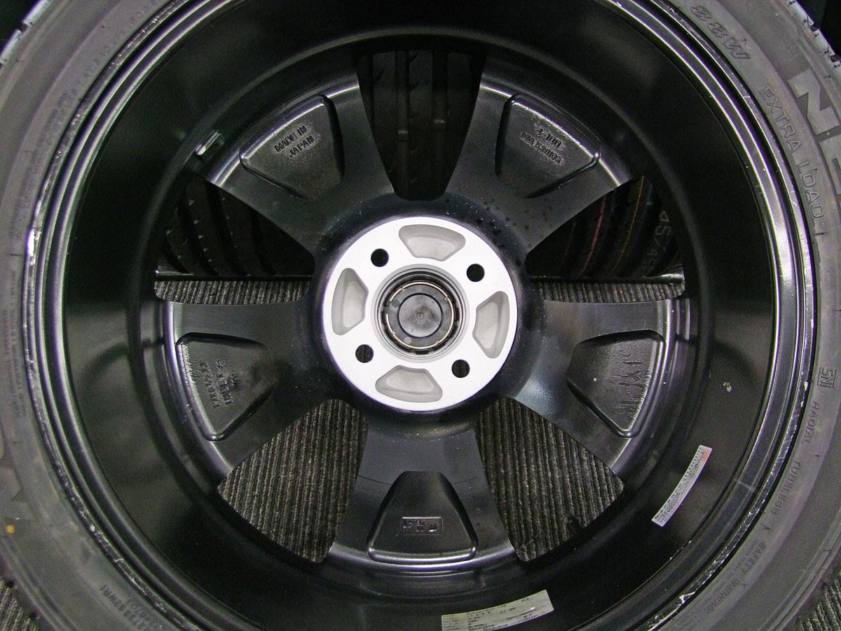 GARSON D.A.D Zuenglein109 ブラック&ポリッシュ NEXEN N8000 205/45ZR17 4本SET