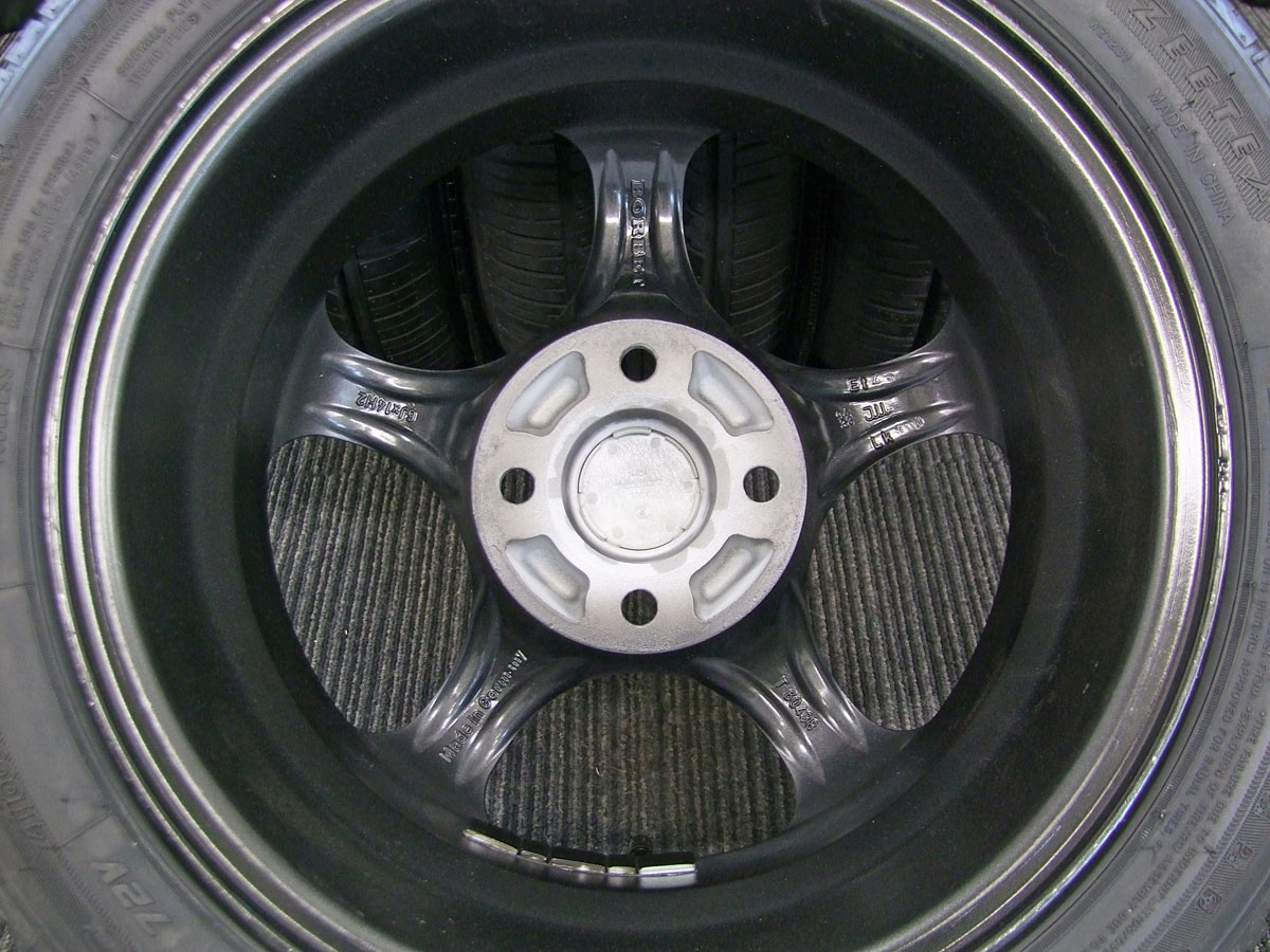BORBET typeT ガンメタ ZEETEX ZT1000 165/55R14 4本SET