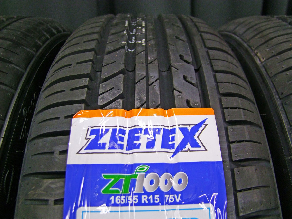 WEDS NIRVANA NV ガンメタ ZEETEX ZT1000 165/55R15 4本SET